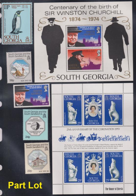 Lot 120 - collections and accumulations  -  Mowbray Collectables Postal Stamp Auction #524