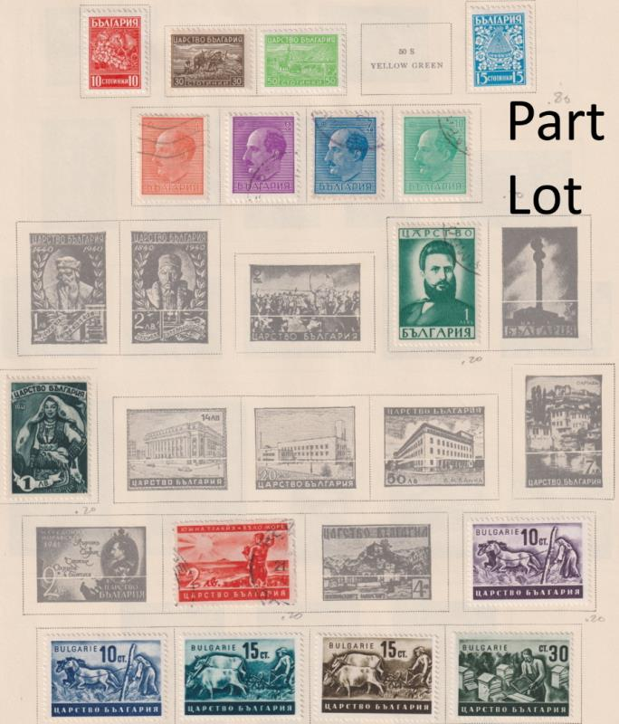 Lot 34 - collections and accumulations  -  Mowbray Collectables Postal Stamp Auction #524