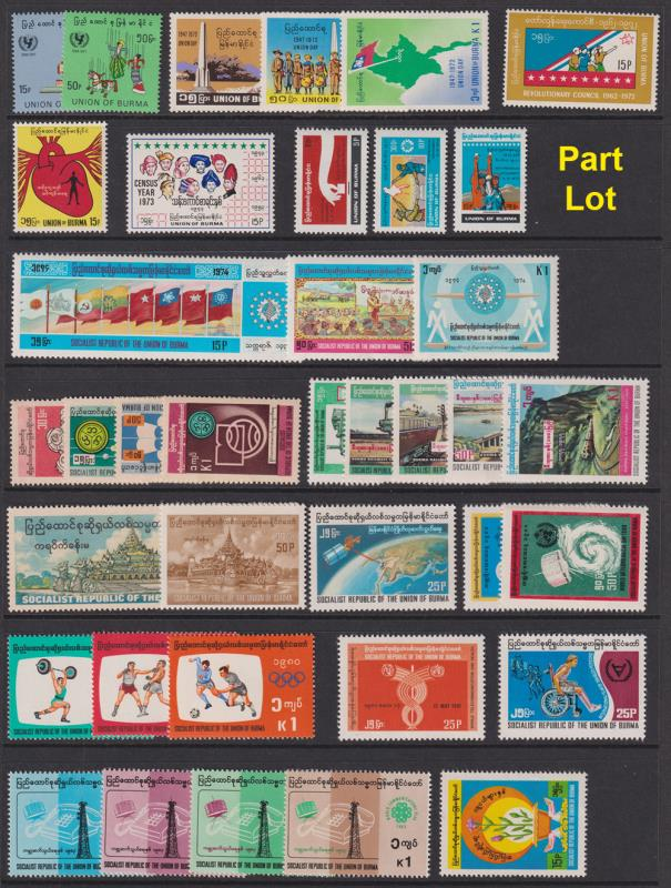 Lot 36 - collections and accumulations  -  Mowbray Collectables Postal Stamp Auction #524