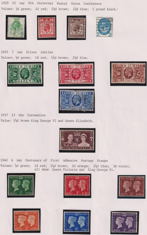 Lot 57 - collections and accumulations  -  Mowbray Collectables Postal Stamp Auction #524