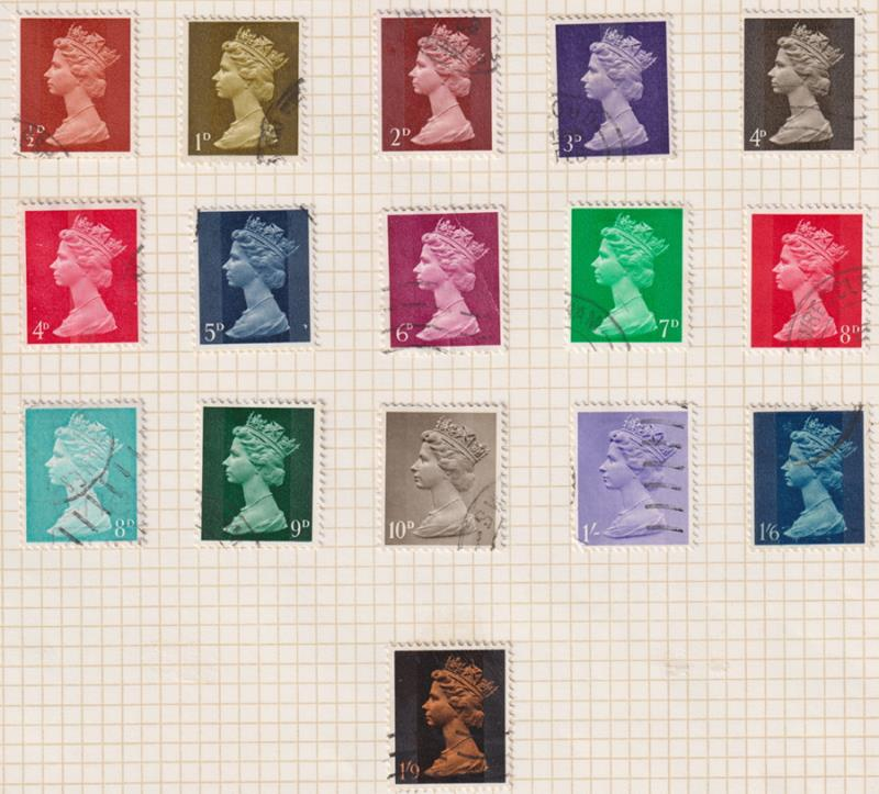 Lot 59 - collections and accumulations  -  Mowbray Collectables Postal Stamp Auction #524