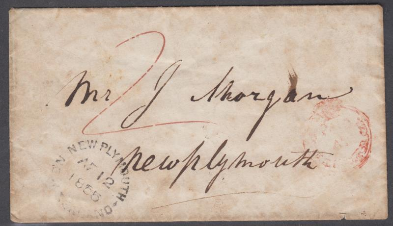 Lot 194 - New Zealand - Postal History  -  Mowbray Collectables Public Stamp Auction #36