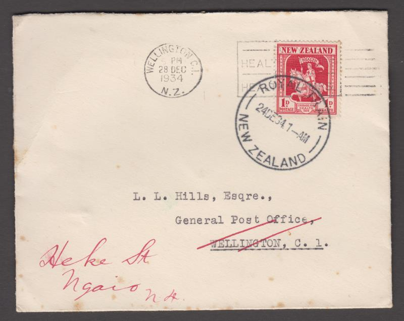 Lot 201 - New Zealand - Postal History  -  Mowbray Collectables Public Stamp Auction #36