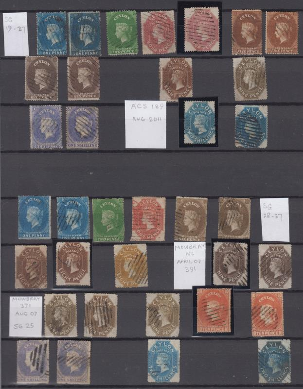 Lot 39 - collections and accumulations  -  Mowbray Collectables Public Stamp Auction #36