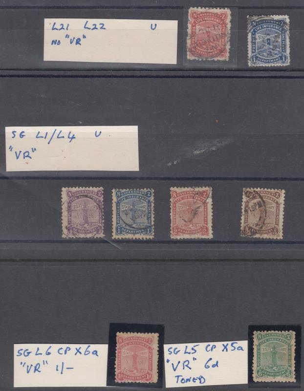 Lot 727 - New Zealand - Life Insurance  -  Mowbray Collectables Public Stamp Auction #36